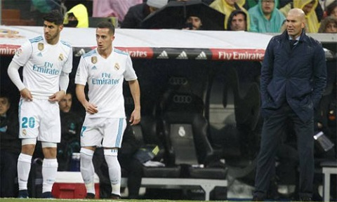 Từ băng ghế dự bị, Asensio và Vazquez đang đóng vai trò rất quan trọng đối với Real