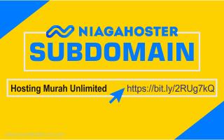 Cara membuat Sub Domain Di Niagahoster