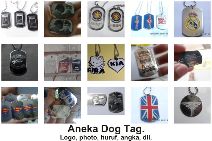 Produk dog tag