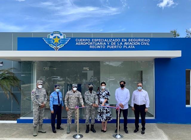 CESAC y Aerodom inauguran recinto en Aeropuerto Internacional Gregorio Luperón en Puerto Plata