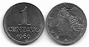 1 centavo, 1969