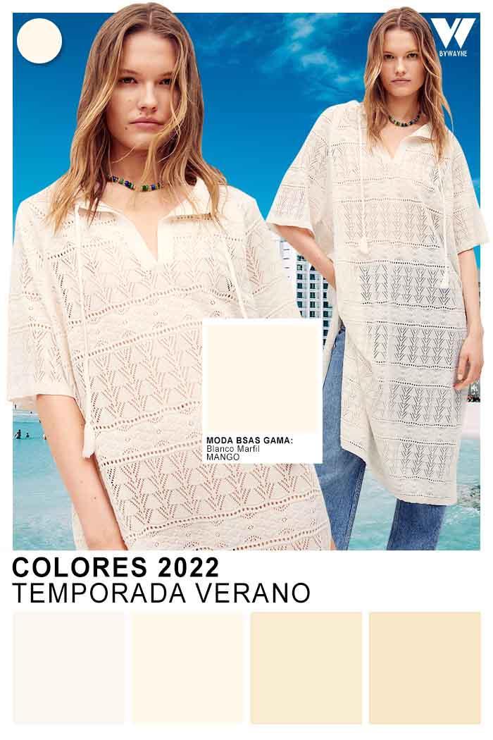 moda mujer colores tendencia primavera verano 2022