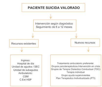 valoración paciente suicida