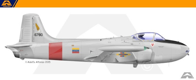 venezuela Jet Provost 1982 escarapela nacional ceo dir 119 cucarda insignia