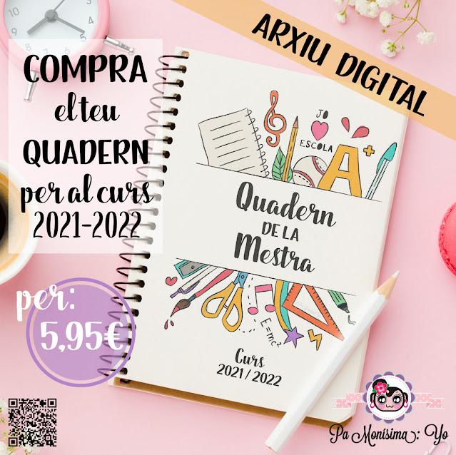 Quadern de la mestra curs 2021-2022