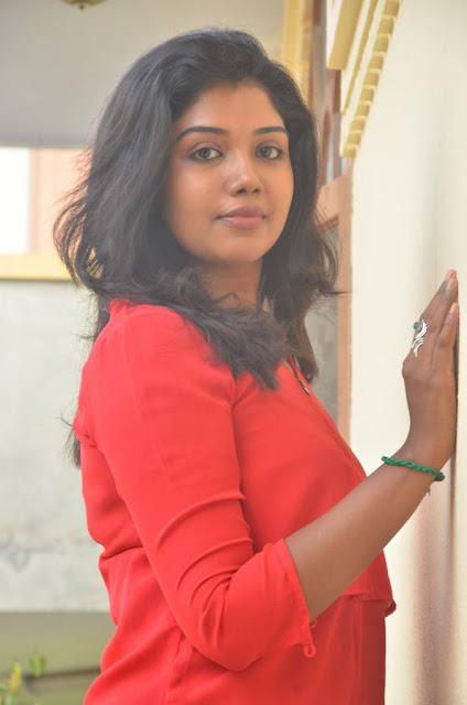 Riythvika Stills At Torchlight Tamil Movie Team Interview