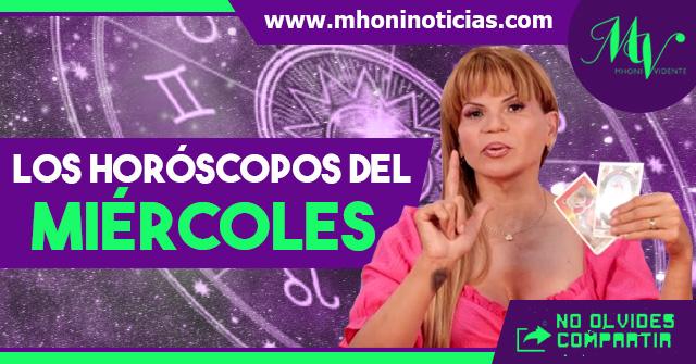 Los horóscopos del MIÉRCOLES 21 de ABRIL del 2021 - Mhoni Vidente