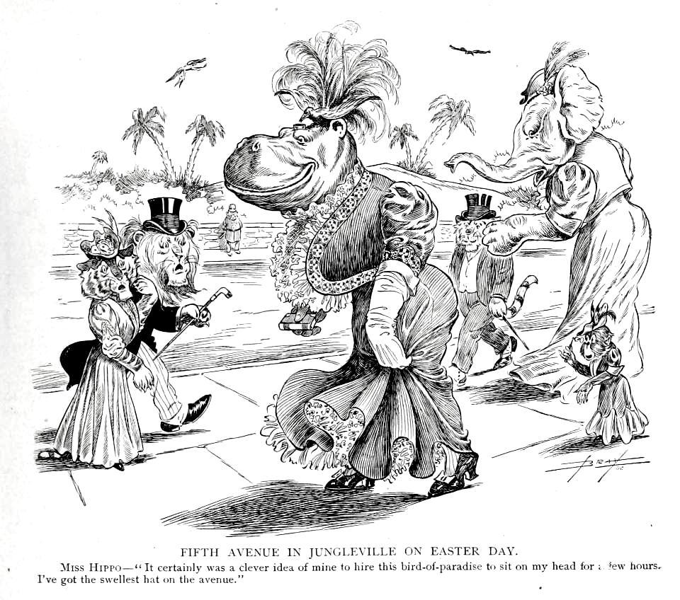 Hairy Green Eyeball 3: 25 cartoons from early 20th century
