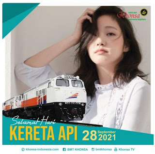 twibbon hari kereta api indonesia 2021 - kanalmu