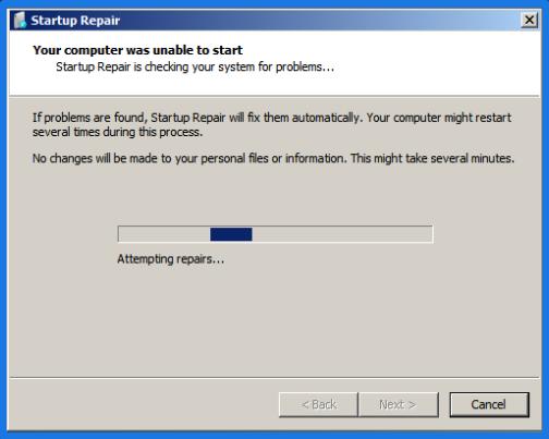 Startup Repair