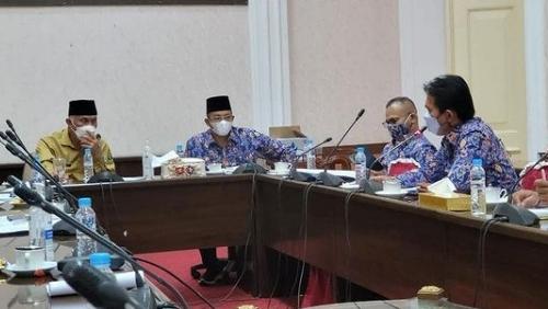 PD Perpamsi Sumbar Audensi dengan Gubernur Mahyeldi