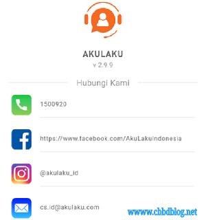 Call Center Customer Service Akulaku Indonesia Terbaru 2020 Cbbdblog Net