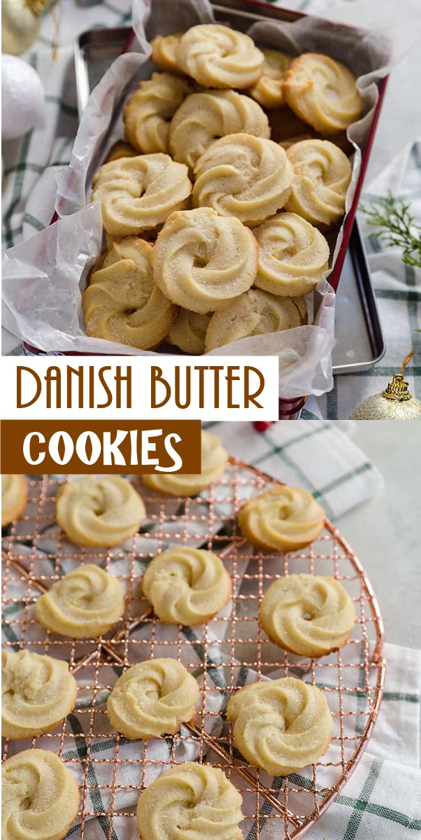 DANISH BUTTER COOKIES #Cookiesrecipes