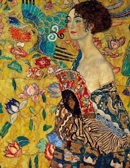 Ilustración de Gustav Klimt