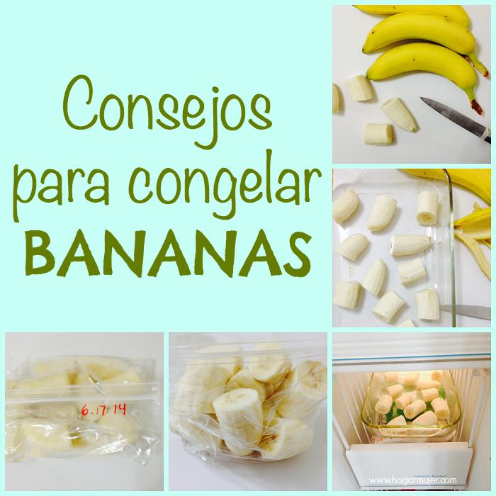 #tipsdecocina #hogar #congelarbananas #bananas