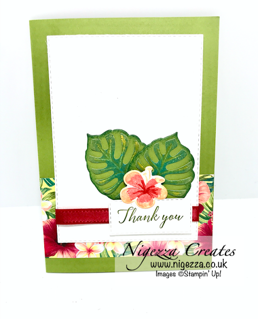 Tropical Oasis Stampin Up