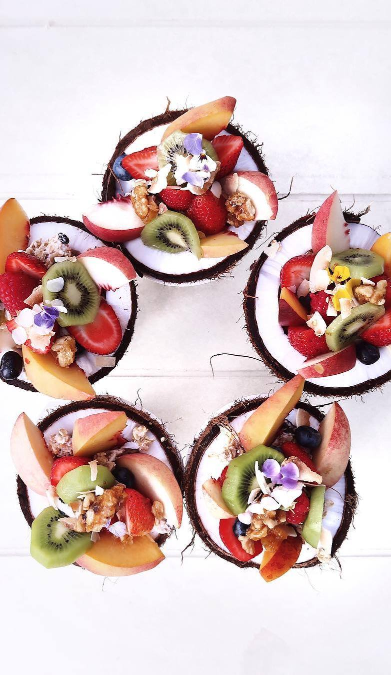 veggie and delicious dessert idea