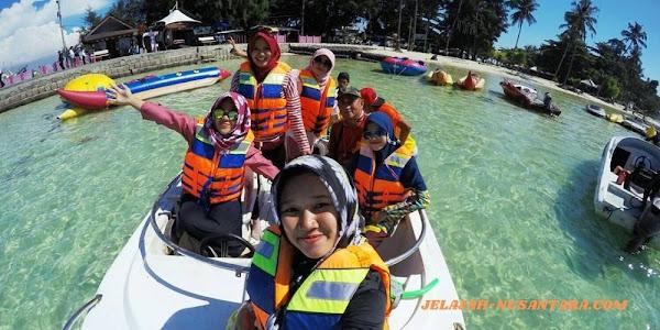 fasilitas wisata private trip pulau tidung