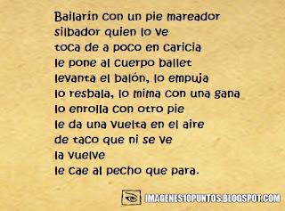 poemas de futbol