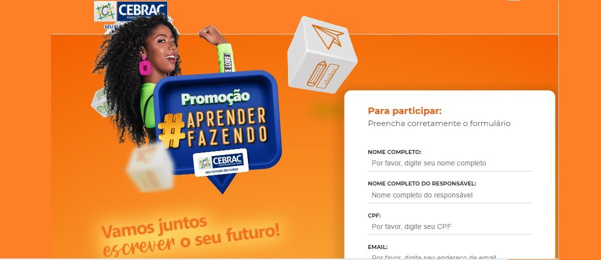 Promoção Cebrac 2021 Concorra Celular, Notebook, Curso e Mais - Participar, Cadastrar e Prêmios