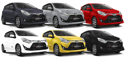 Kredit Mobil All Toyota New Agya