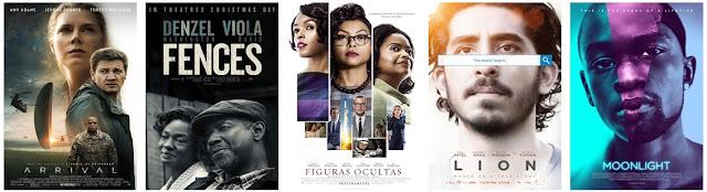 Ganadores de los Óscars 2017