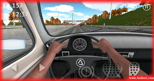 افضل لعبة قيادة سيارات للاندرويد : Driving Zone: Germany