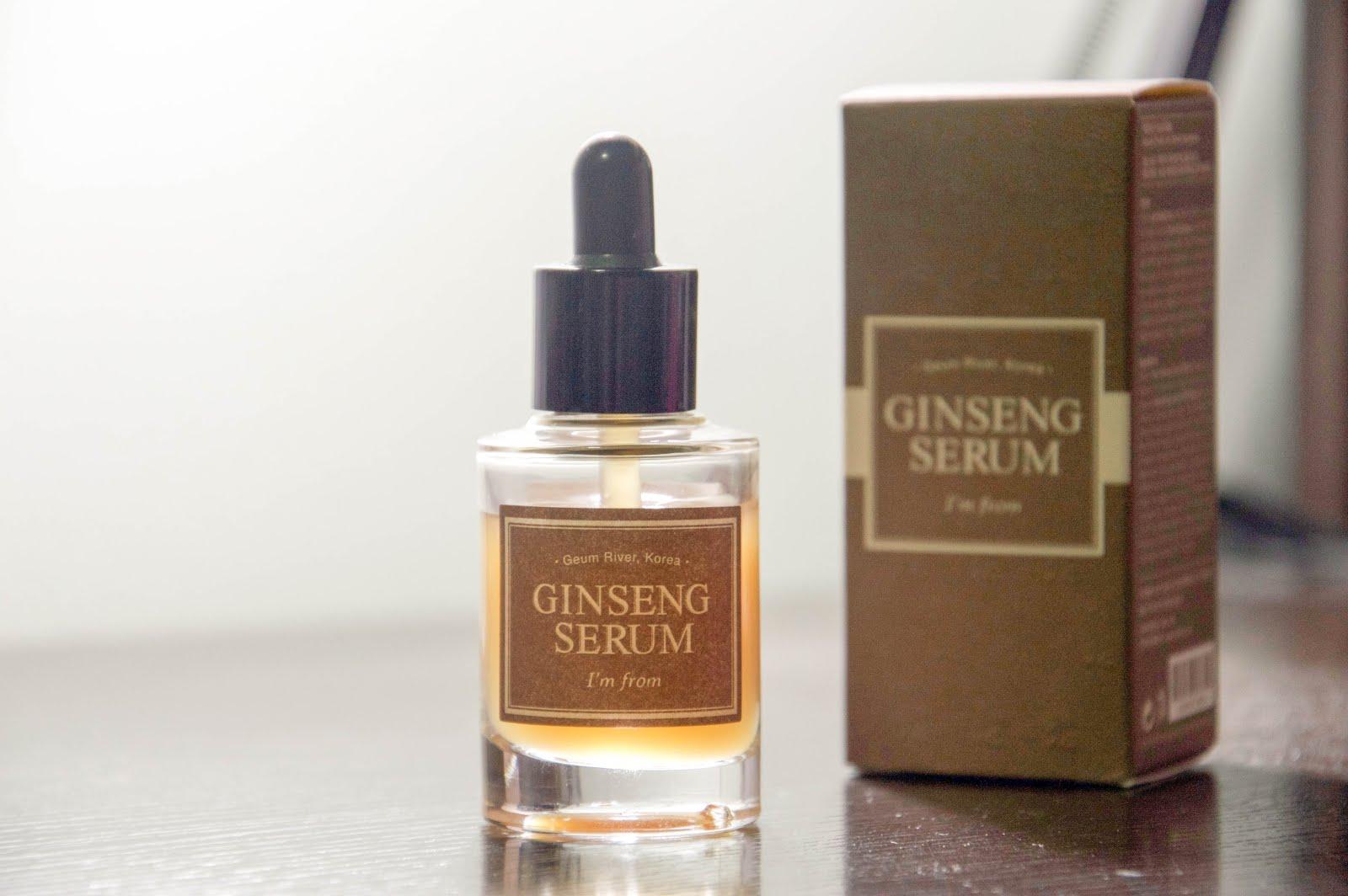 ginseng on skin