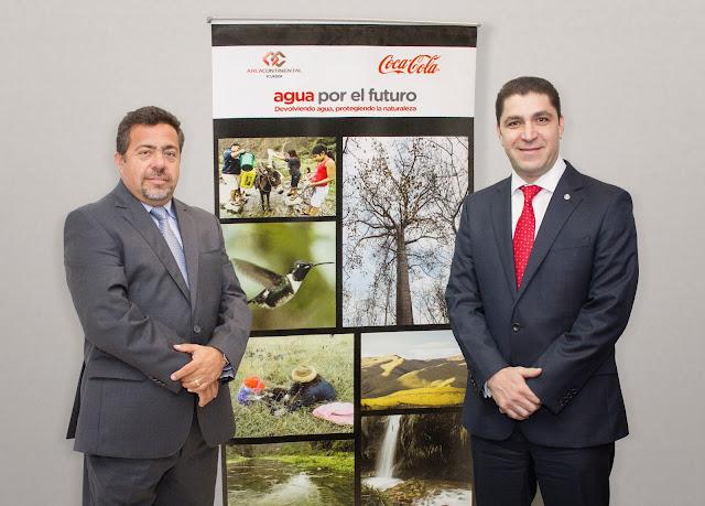 Coca-Cola devuelve a la naturaleza el 100% del agua utilizada en sus bebidas