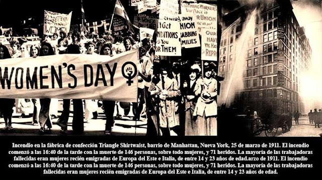 La trágica historia del Día Internacional de la Mujer