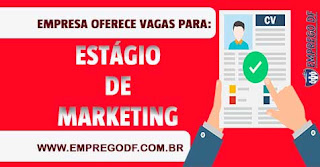 Estagiário de Marketing