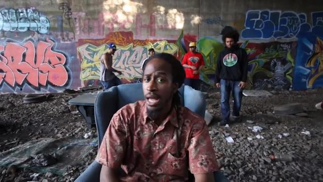 O rapper BIXOP lança o clipe #SangoFreestyle, onde ele rima uma metade em inglês e outra em português