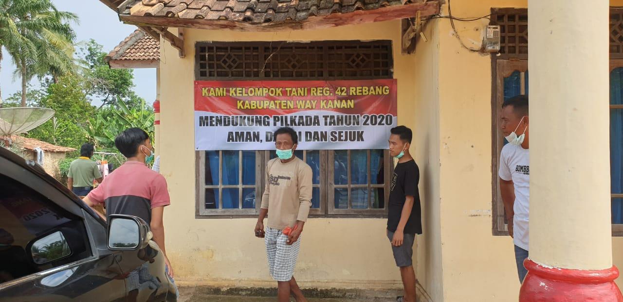 Polda Lampung Silaturahmi dengan Penggarap Register 42 Rebang