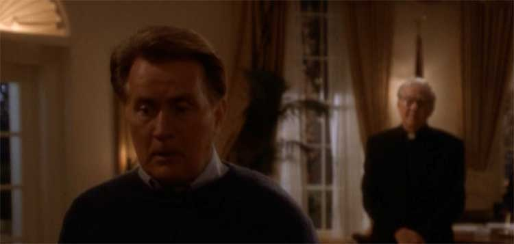 Martin Sheen as Bartlet in Take This Sabbath Day of The West Wing.