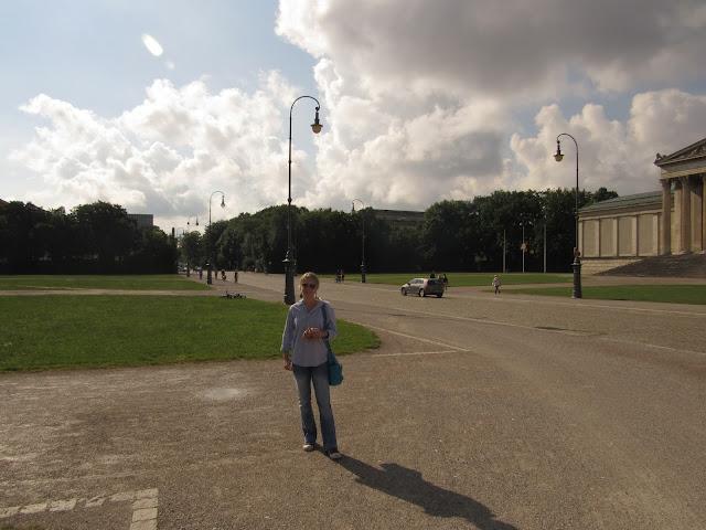 A Königplatz O que ver em Munique Alemanha, nazismo