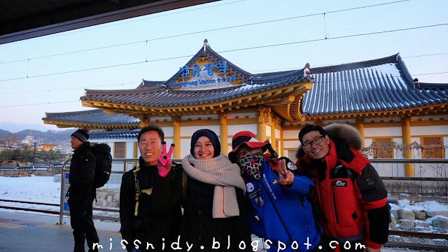 cerita perjalanan ke gangchon railpark korea