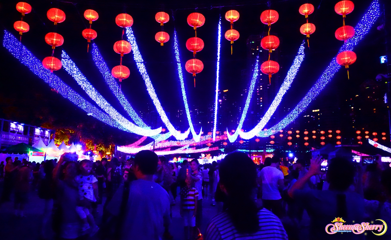 Hong Kong Mid-Autumn Lantern Festival 2016 Causeway Bay Travel Vlog Blog