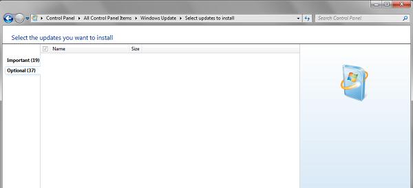 Pembaruan Windows tidak berfungsi Adalah hal yang berbeda untuk menemukan bahwa Pembaruan  Pembaruan Windows tidak berfungsi
