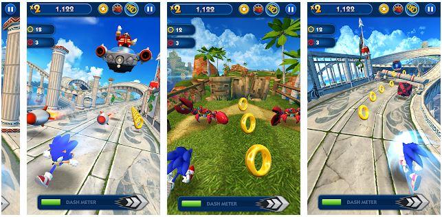 لعبة-Sonic-Dash