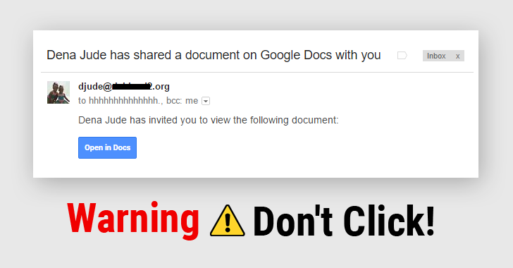 Warning Dont Click That Google Docs Link You Just Received In Your - Google docs google docs