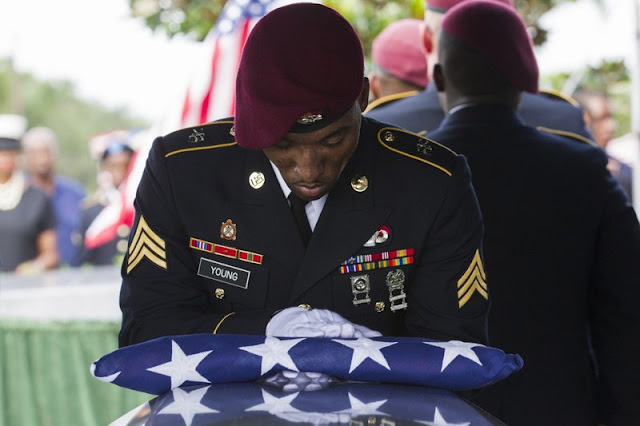 Funeral held for US soldier