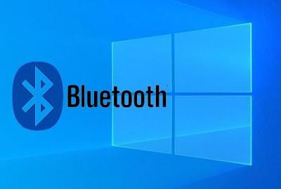Ilustrasi gambar bluetooth di windows 10
