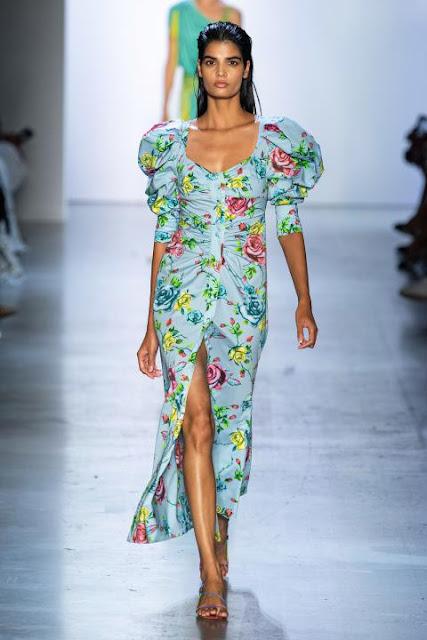Модное платье весна-лето 2020 7