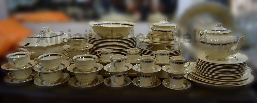 Antig edades adela antiguo juego de platos vajilla completo ingles johnson bros - Johnson brothers vajilla ...