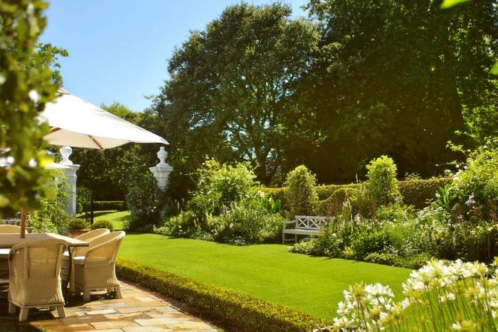Stellenberg Gardens, terraza