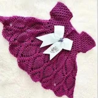 Vestido Fantasía a Crochet