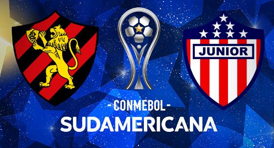 Assistir Atlético Júnior x Sport  AO VIVO 02/11/2017 - Copa Sul-Americana