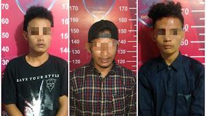 Modus Menolong Ternyata Menodong, Tiga Pemuda Diciduk Tim Puma Polres Dompu