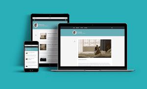 Persona - Tema blogger personal responsive
