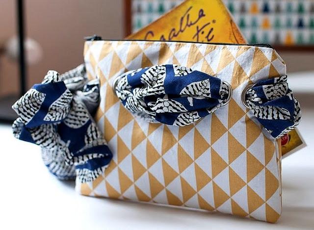 Etsy Design Awards, la trousse en tissu et son foulard traversant, catégorie Style Inimitable